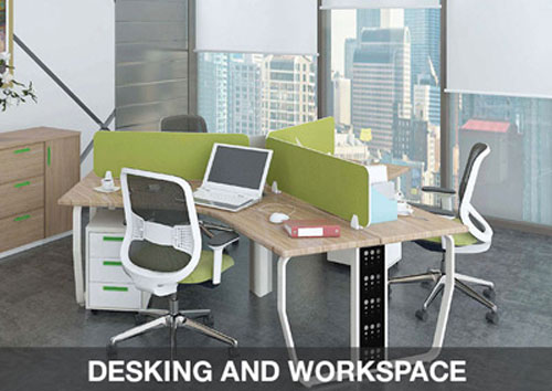 DESKING AND WORKSPACE